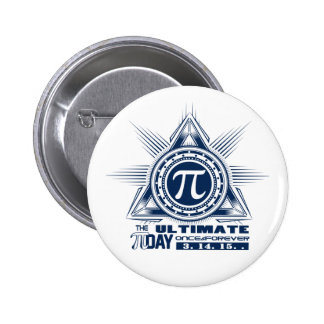 Pi Day of the Century! Button 2 Inch Round Button