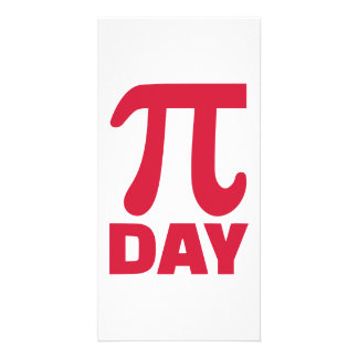 Pi Day Personalized Photo Card