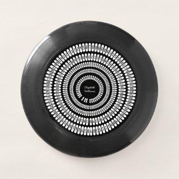 Professional Business Pi Day Pi Digits Pi 3.14159 Numbers Black White Wham-O Frisbee