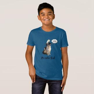 Pi Day Pi-Rate Cat T-Shirt