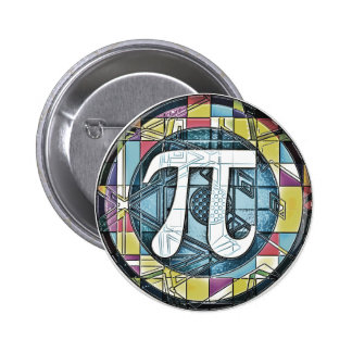 Pi Day Pi Symbols Button