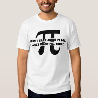 Pi Day Pie Day Tee Shirt