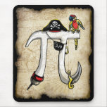 Pi Day Pirate Mouse Pad