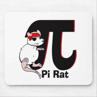 Pi Day Pirate Mousepads