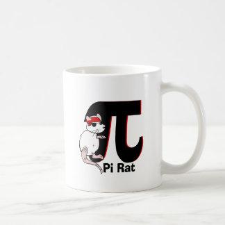 Pi Day Pirate Rat Coffee Mug