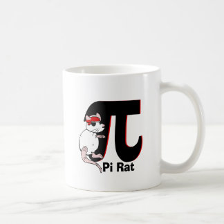 Pi Day Pirate Rat Mugs