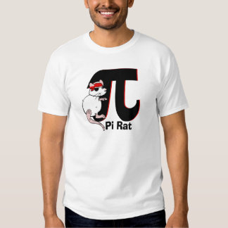 Pi Day Pirate Rat T-Shirt