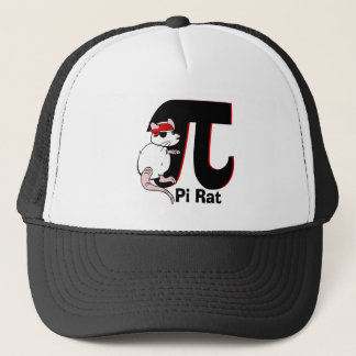 Pi Day Pirate Rat Trucker Hat