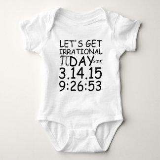 PI DAY.png Baby Bodysuit