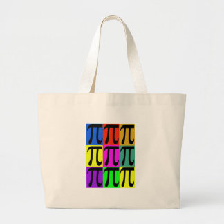Pi Day POPART gifts Large Tote Bag