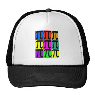 Pi Day POPART gifts Mesh Hats