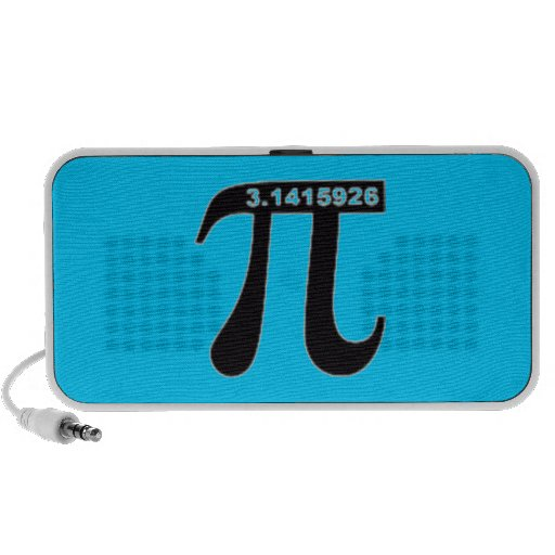 Pi Day Portable Speaker
