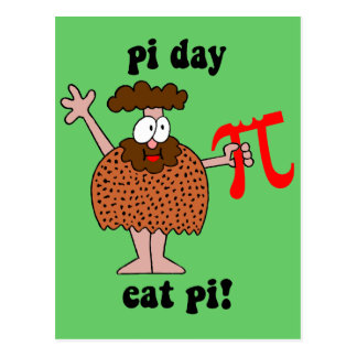 Pi Day Postcard