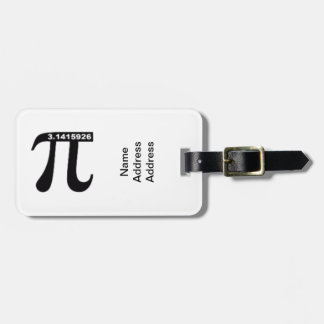 Pi Day SALE ~ March 14th Madness Bag Tag
