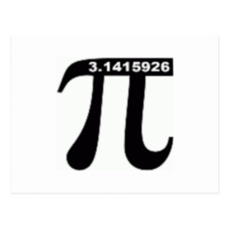 Pi Day SALE ~ March 14th Madness Postcard