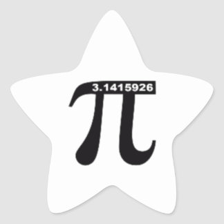 Pi Day SALE ~ March 14th Madness Star Sticker