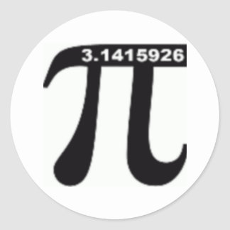 Pi Day SALE March 14th Madness Round Stickers