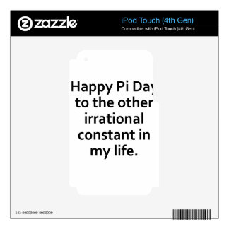 pi day skins for iPod touch 4G