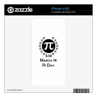 pi day skins for the iPhone 4S