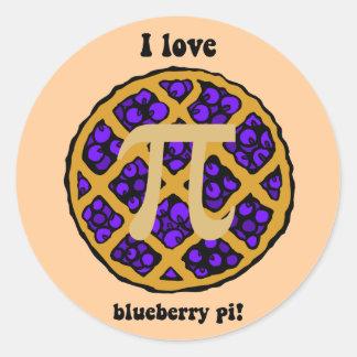 Pi Day Round Stickers