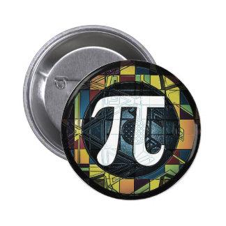 Pi Day Symbol Design dk 2 Inch Round Button