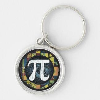 Pi Day Symbol Design dk Keychain