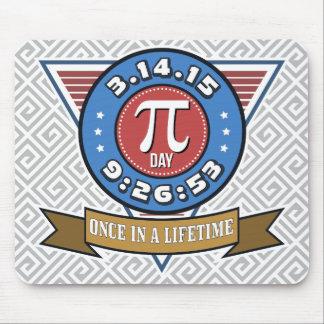 Pi Day Symbol for Math Nerds Custom Mousepad