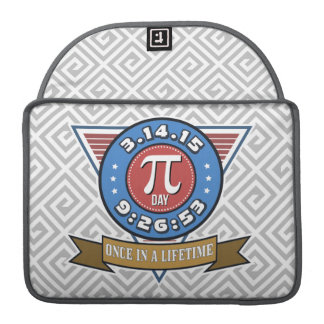 Pi Day Symbol for Math Nerds MacBook Sleeve Sleeves For MacBooks