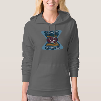 Pi Day Symbol for Math Nerds Pullover Hoodie