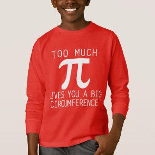 pi day T-Shirt at Zazzle