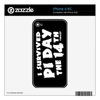 Pi Day the 14th Decal For The iPhone 4S
