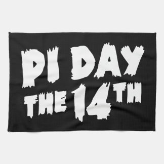 Pi Day the 14th Kitchen Towel