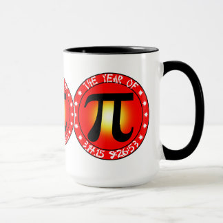Pi Day - Year of Pi  3/14/15 9:26:53 Mug