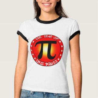 Pi Day - Year of Pi  3/14/15 9:26:53 T-Shirt