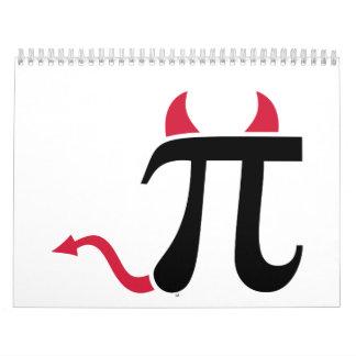Pi devil calendar