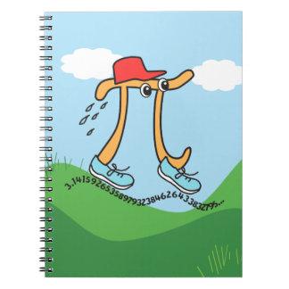 Pi duraderos - Individuo del pi - regalo divertido Libreta Espiral
