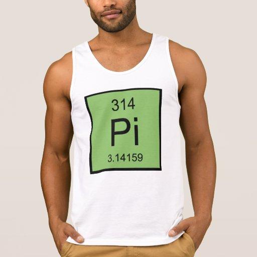 Pi Element Tank Tank Tops, Tanktops Shirts