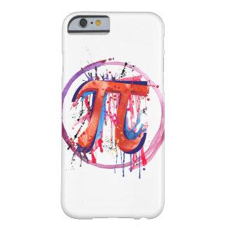 Pi emocional, arte de la pintura de la acción funda barely there iPhone 6