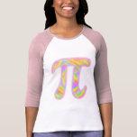 Pi en colores pastel camiseta
