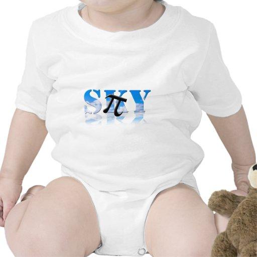 Pi en el cielo trajes de bebé