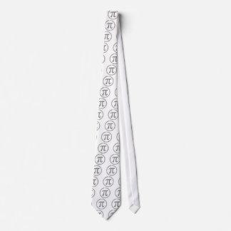 Pi en plata corbatas