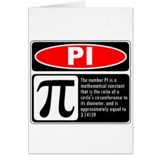 Pi Explanation Card