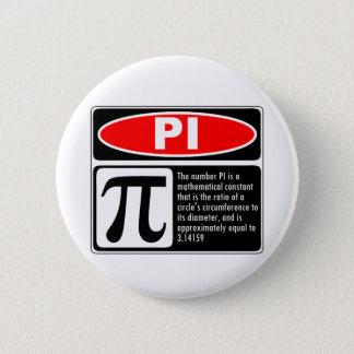 Pi Explanation Pinback Button