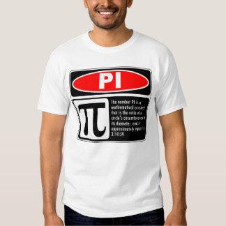 Pi Explanation T-shirt