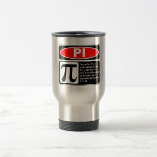 Pi Explanation Travel Mug