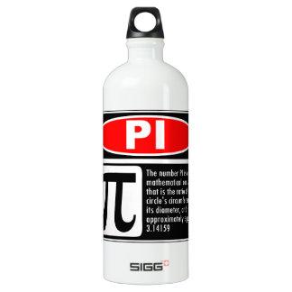 Pi Explanation Water Bottle
