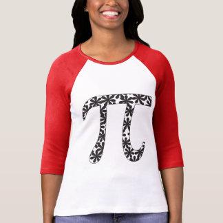 Pi floral camiseta