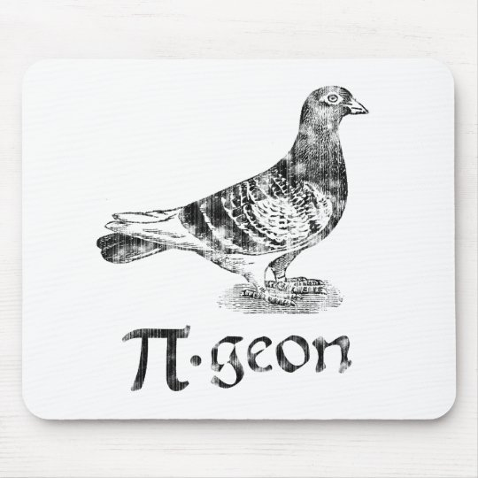 PI-geon Mouse Pad