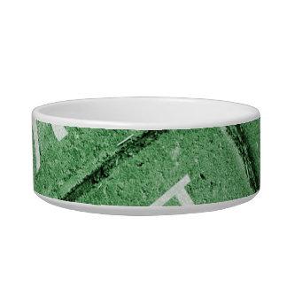 Pi Grunge Style Pattern Bowl