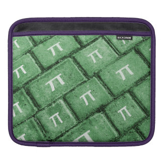 Pi Grunge Style Pattern iPad Sleeve